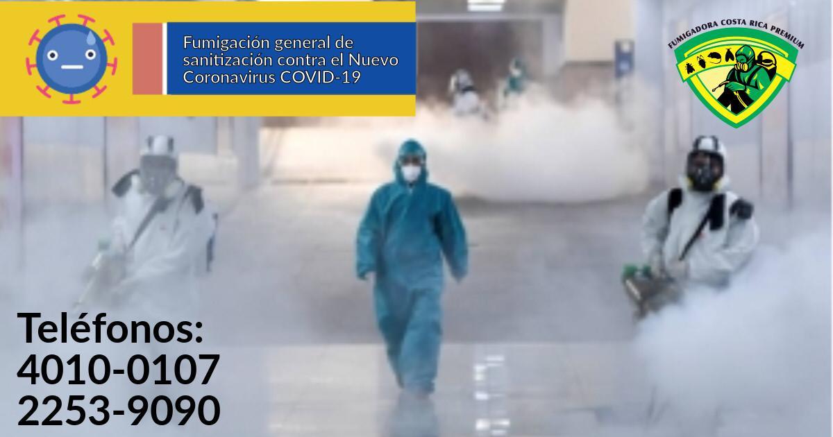 Fumigacion Sanitizacion contra coronavirus